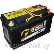 Аккумулятор BLACK HORSE 100з евр 800A фото