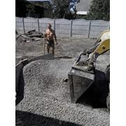 Планировка участка, планировка участка под строительство, расчистка участков. фото
