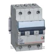 Автоматический выключатель TX3 3Р 16А тип С 6kA 404056 фото