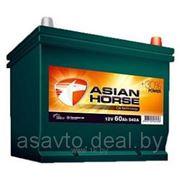 Аккумулятор ASIAN HORSE 70з евр 600A (261x175x220) фото