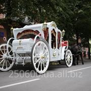 Свадебная карета. фото