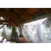 Система и вентиляторы туманообразования фото