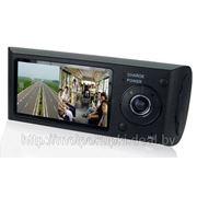 Видеорегистратор Blackbox x3000 2 камеры GPS фото