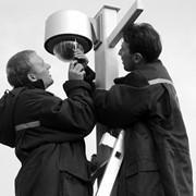 Проектирование и установка охранных систем, Киев, Монтаж систем теле-, видеонаблюдения фото
