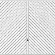 Гаражные подъемно-поворотные ворота Berry мотив 990 фото