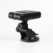 Авто HD V-T видеорегистратор, 1,3 Mpx, 1280 х 960, Чёрный фото