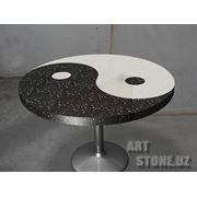 Столы из искусственного камня фото