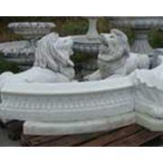 Скульптуры из природных материалов. Чаши для фонтанов фото