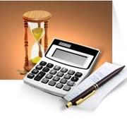 Предоставление текущих бухгалтерских отчетов (Организация налогового учета) фото