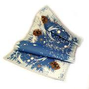 """Декоративная салфетка из гобелена """"Морозные узоры"""" 100х35 см фото"""