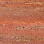 Травертин Красный сорт (Иран) фото