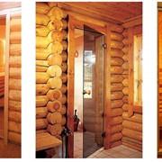 Стеклянные двери для сауны фото