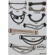 Пряжки, крабы, украшения для обувной, швейной и галантерейной промышленности фото