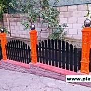 Металлический забор.Gard metalic in Moldova фото