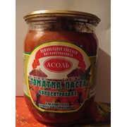 Паста томатная 25% стеклобанка 0,5л.ДСТУ 5081-2008 фото