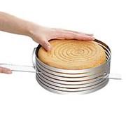 Форма раздвижная для нарезки бисквита фото