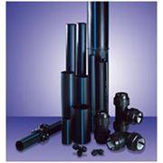 Трубы водонапорные из полиэтилена высокой плотности фото