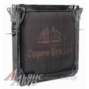 Радиатор МАЗ-4370 медный 3-х ряд. Купробрейз ШААЗ 4370-1301010 фото