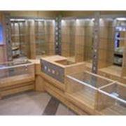 Торговое оборудование, прилавки, витрины, офисная мебель производство фото