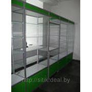 Торговое оборудование, прилавки, витрины, модульные системы фото