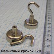 Магнитный крючок E20 фото