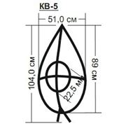 Каркас венка ритуального КВ-5 фото