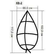 Каркас венка ритуального КВ-2 фото