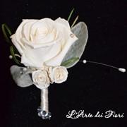 Бутоньерка жениху, букеты свадебные фото