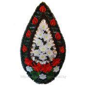 Венок ритуальный, В-03, 125х68 см. фото