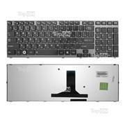 Клавиатура для ноутбука Toshiba Satellite A660, A665; Qosmio X770, X775 Series BLACK FRAME Glossy TOP-77206 фото