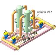 Блок очистки газа для газораспределительных станций и ШРП фото