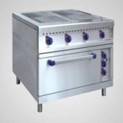 Плита электрическая ЭПК-48ЖШ-К-2/1 (вся нерж. сталь) фото