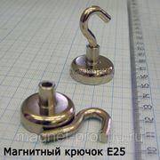Магнитный крючок E25 фото