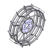"""Колесо с грунтозацепами для мотоблоков """"ЗУБР"""" универсальное диаметром фото"""