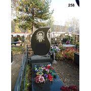 Памятник из натурального камня №258 фото