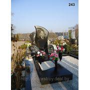 Памятник из натурального камня №243 фото