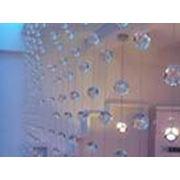 Хрустальные шторы фото