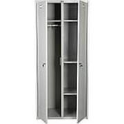 Металлический шкаф для раздевалок ШР 2х4 фото