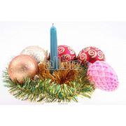 Свечи новогодние фото