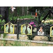 Чугунная ограда фото
