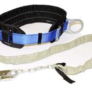 Пояс предохранительный безлямочный с цепным стропом (2ПБ) фото