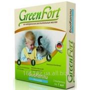Биокапли от блох и клещей для кошек 3 шт Green Fort фото