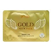 Гидрогелевые патчи для шеи с золотом (Gold neck pack hydrogel angel wings) Petitfee | Петитфи 10г фото