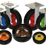 Колеса резиновые для тележек D150 фото
