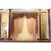 Элитные шторы фото