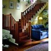 Деревянные лестницы на заказ+реставрация+ремонт. фото