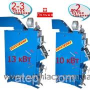 Котел Wichlacz 13 kWt Твердотопливный до 2-3 суток горения фото