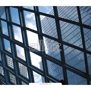 Ограждения из нержавеющий стали с каленым стеклом фото
