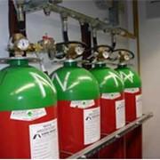 Системы газового пожаротушения с инертным газом фото