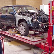 Услуги по ремонту кузовов легковых автомобилей фото